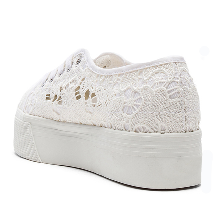 platform casual lace very women yarn fashion shoes Net qFRtaa