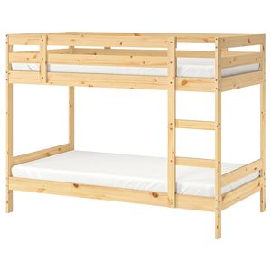 Premium Quality Furniture SLICK Twin over Full Bunk Bed with Slide