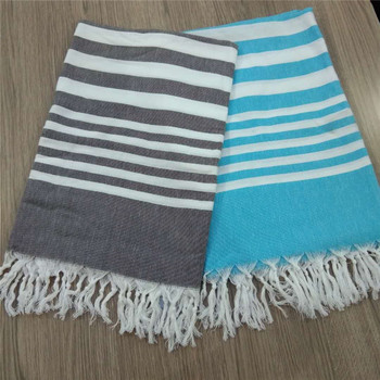 eco-friendly beach turkish towel