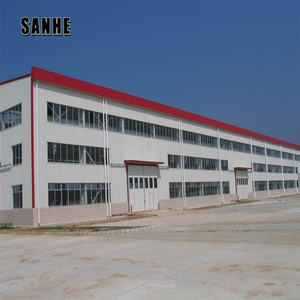 low cost pre engineered fabricated light steel warehouse shed solar space frame steel structure