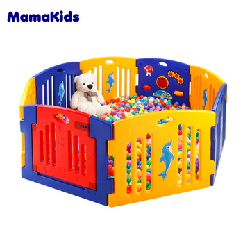 Wholesale Safety Indoor Baby Child Play Yard Fence - Buy Baby Play ...