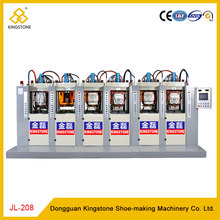 Static 6 Stations Soccer Shoe Sole Injection Machine