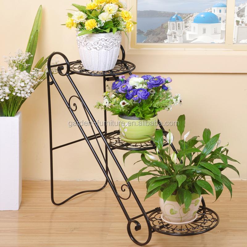 xy uniquely home garden decor metal plant stand  tier flower, Garden idea