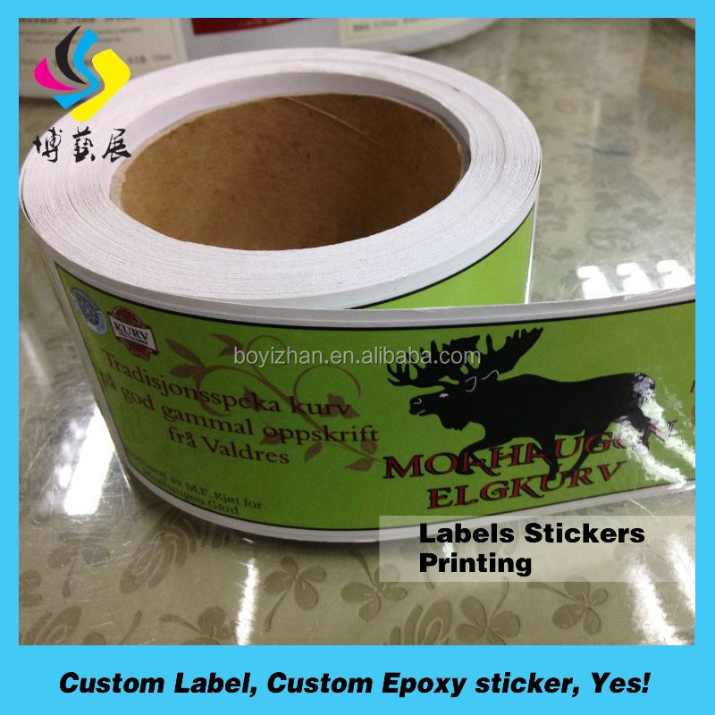 Self adhesive thermal barcode labels sticker inkjet paper in roll print stickers