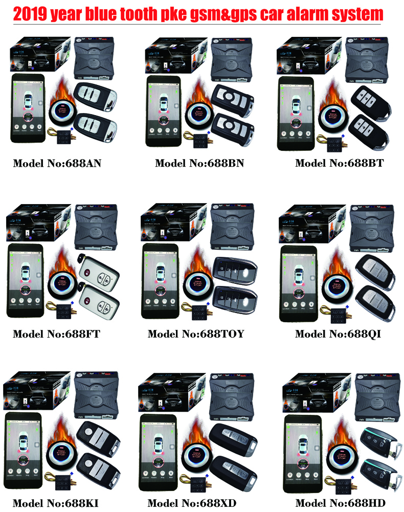 cardot gps keyless go system for cars car central locking system bypass immobilizer output mobile phone app start stop engine