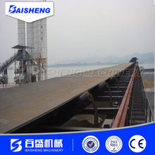 industrial aluminum rubber belt conveyor conveying equipment