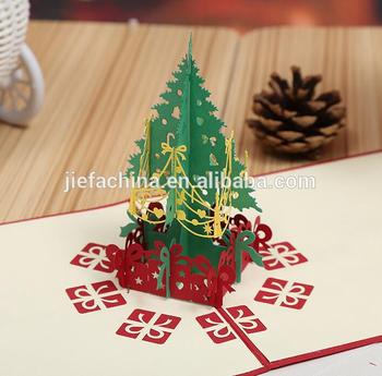 merry christmas greeting cards christmas gife and decoration 3d pop up cards 3d christmas cards