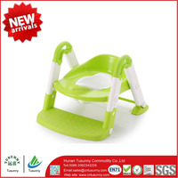 2016 Idea Design portable ladder toilet baby potty training chair plastic toilet seat for children baby wholesale
