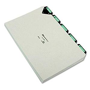 PFXMTN1025 - Pendaflex A-Z Alphabetical File Guide Sets