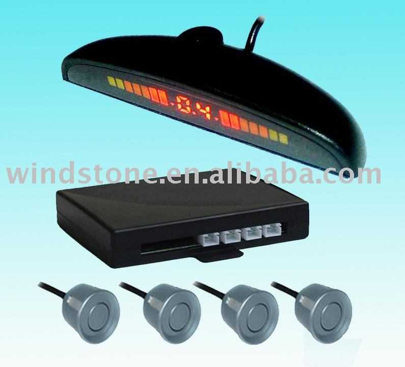 led parking sensor. digital and colorful led display sensor parking