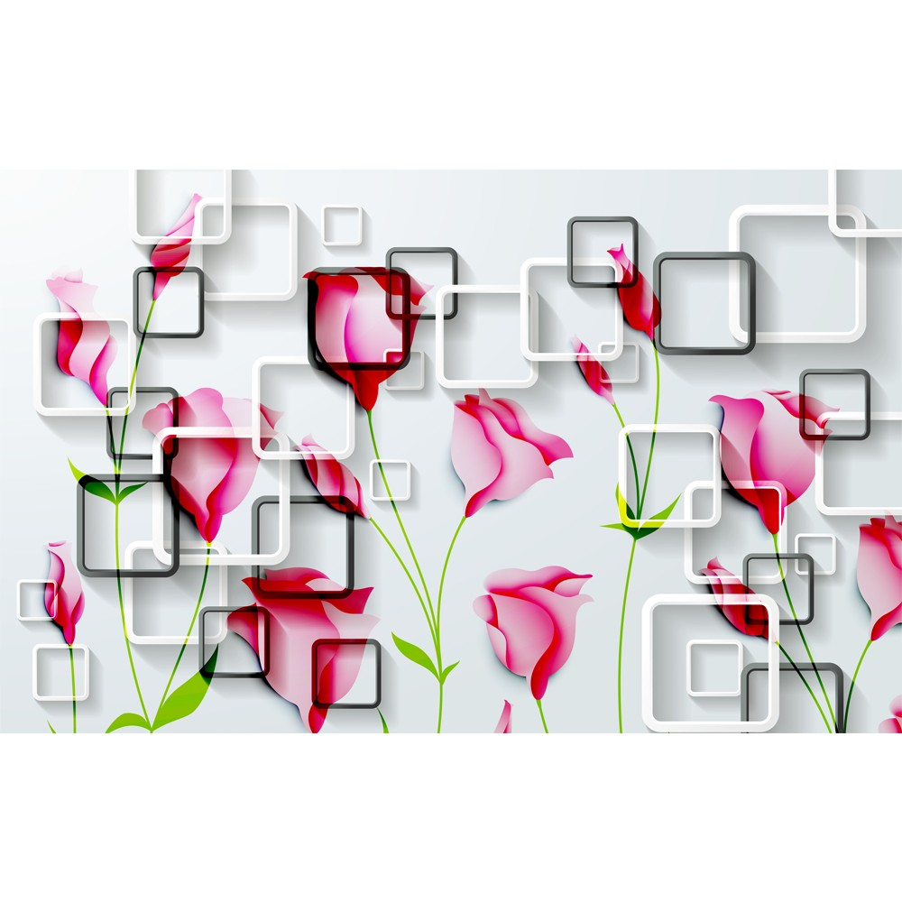 New Design 3d Wallpaper Murals For Tv Backdrop Living Room