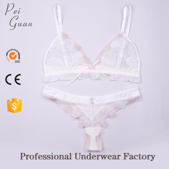 0a782c41573 bulk wholesale custom plus size soft new design transparent womens thong  panties lace bralette sexy bra
