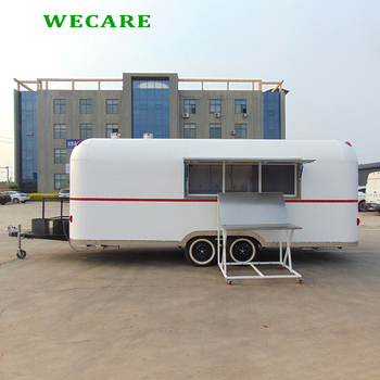 Wecare Unique Design Food Truck With 50mm Thickness
