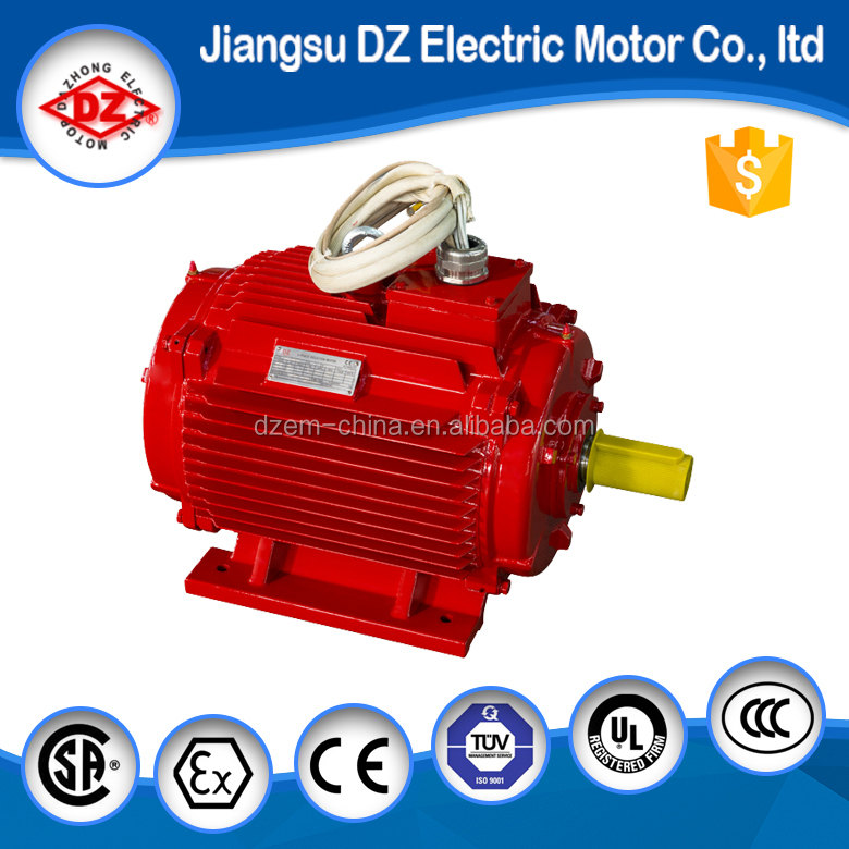 Ac for High temperature electric motor