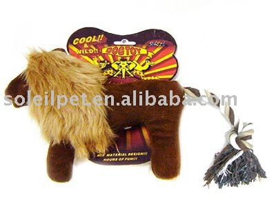 Pet Toy - Dog toy safari world collection- lion P3395