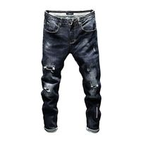 NEOSAIL Factory Directly Sale Slim Fit Wholesale Denim Ripped Jeans men