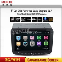 2 din dvd player for Geely Emgrand 7inch touch screen wince 6.0 systemradio cassette recorder with GPS USB RADIO BLUETOOTH