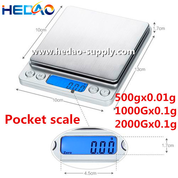 Jewelry Scale High Precision Digital Pocket Electronic Kitchen Scale