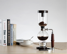 high borosilicate thermos glass vacuum coffee maker