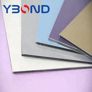 YBOND easy installation curtain wall panels aluminum composite panel/acm