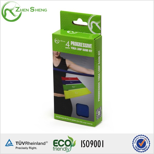 Zhensheng Elastic Rubber Custom Printed Resistance Bands