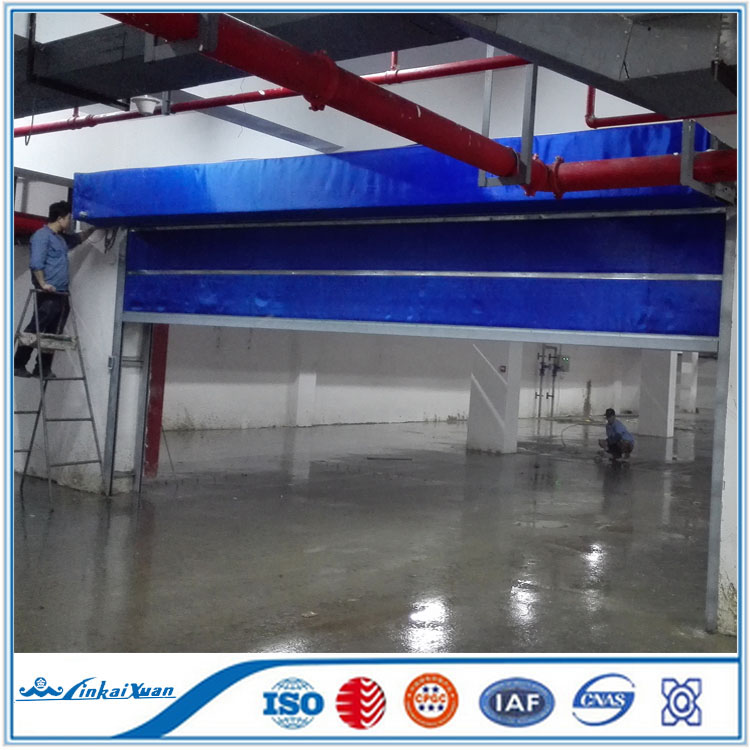 Polycarbonate fire rated door 30 60 90 mins door | Durable rolling resisting door
