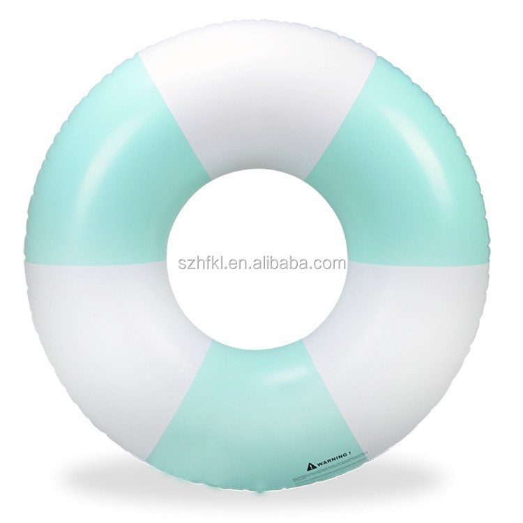 Multifunctional light blue swim ring with high quality