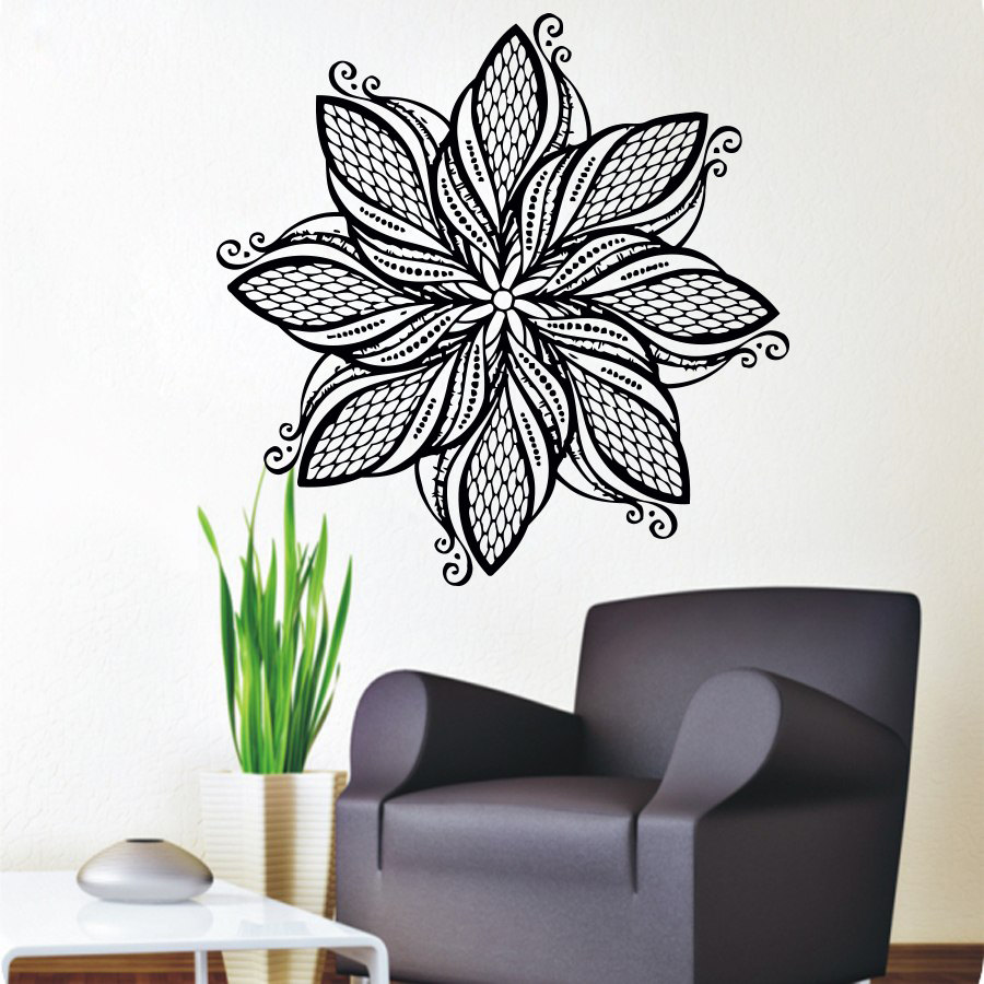 Bohe Mandala Flower Wall Paper Decor Yoga Studio Vinyl: 2015 New Fashion Originality Hot Brown Dreamcatcher Wind