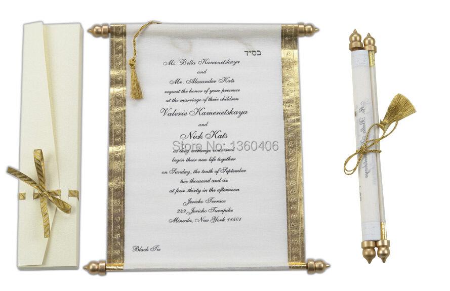 Pocketfold Wedding Invitations Wholesale: Scroll-Wedding-Invitations-Card-Wholesale-Party-Wedding