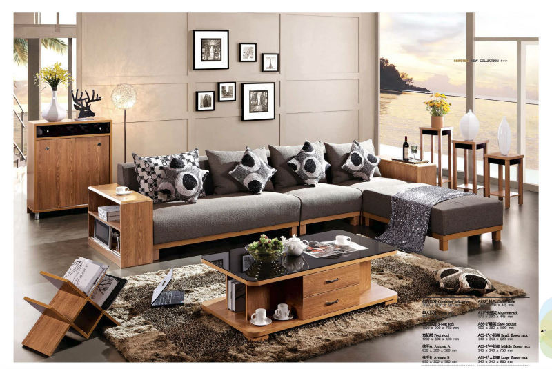 Elegant Price American Simple Modern Living Room Sofa With Design