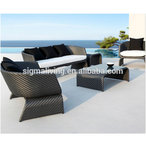 Sigma comfortable garden furniture outdoor couch sets elegant sofa classic