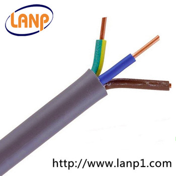 Electric Cable 3 Core Solid Core Copper Wire 3* 6mm2 Wire Cable ...