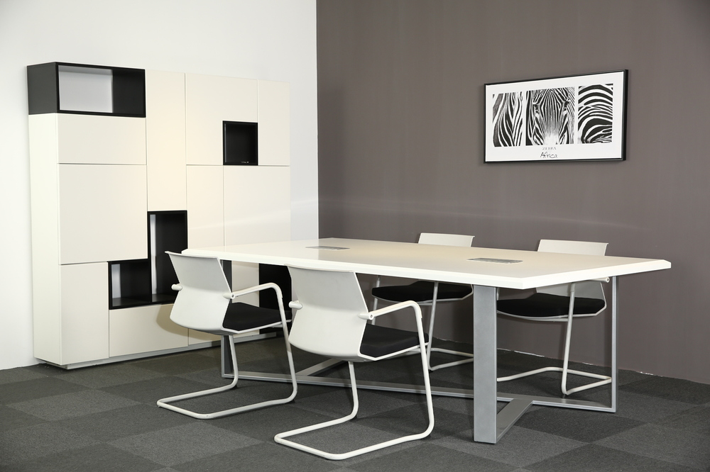 White Modern Style Office Furniture Meeting Desk