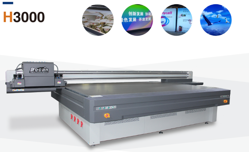 Hot koop DOCAN UV printer flatbed met LED Lamp