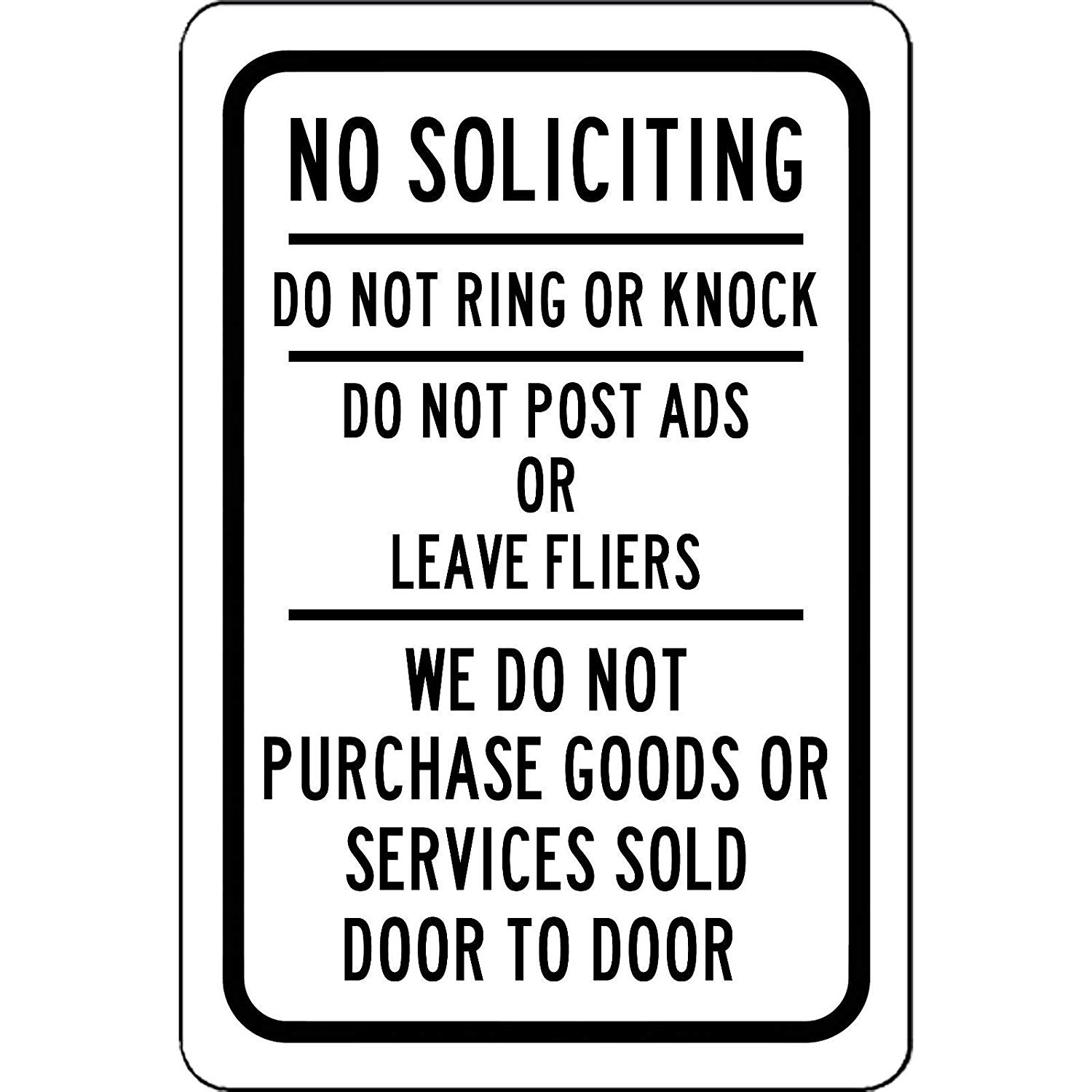 photo regarding No Soliciting Printable identify Economical Printable No Soliciting Doorway Indication, track down Printable No