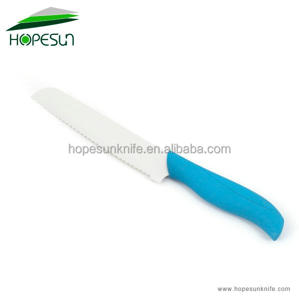 New design kitchen bread ceramic knife with PP handle