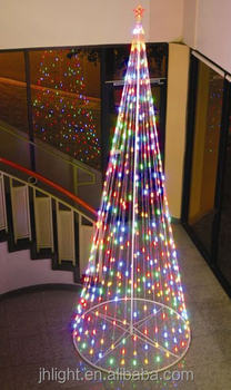 Giant Led Light String Christmas Cone Tree