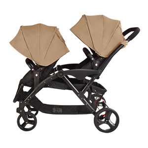 2018 New Style 2-in-1 Twins Double Stroller For Wholesale