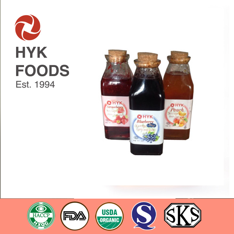 Various of syrups with pulp /fruit preserves/caramel/chocolate/mulberry/grap/orange/apple/peach/apricot/blueberry/strawberry