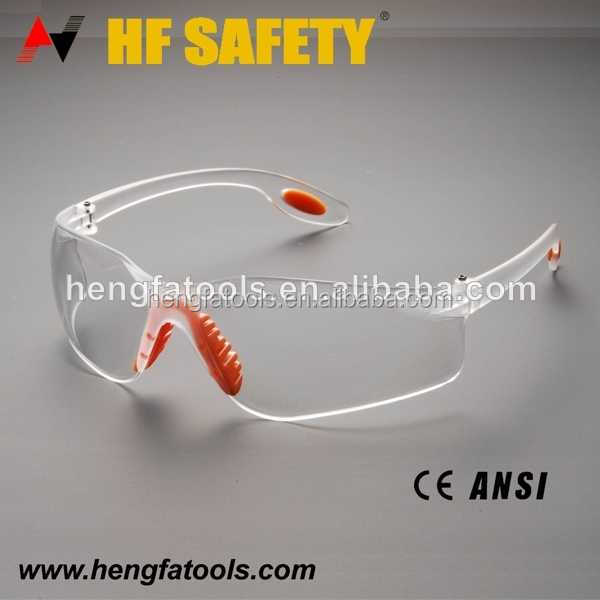 fashionable ANSI safety glasses pc material shooting safety glasses