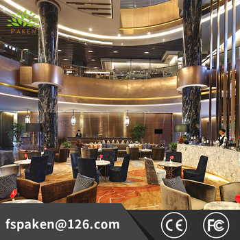 Customized High Quality Luxury Hotel Lobby Furniture