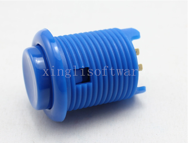 New Concave Round Push Button(Nylon)/arcade push button