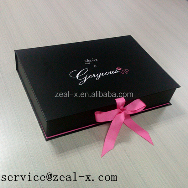 Top Fashion Luxury Gift Paper Box For Garments Folding