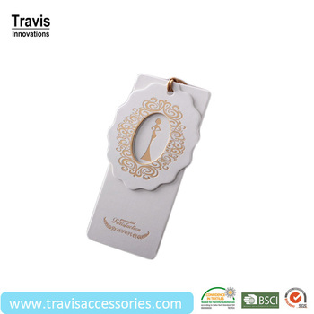 woman clothing tags template with gold stamping printings buy