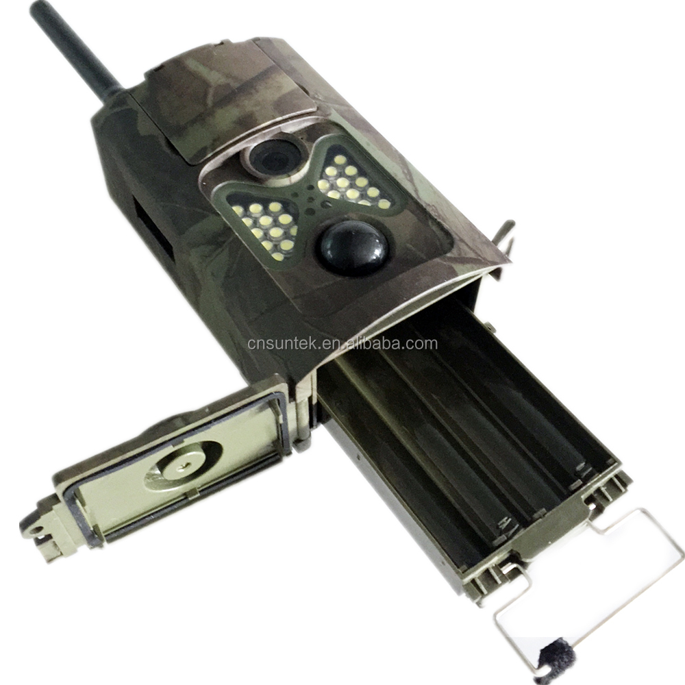 Suntek Newest Full Color Night Shoot 3G WCDMA Trail Camera Strobe Flash Sending Picture out HC500GW