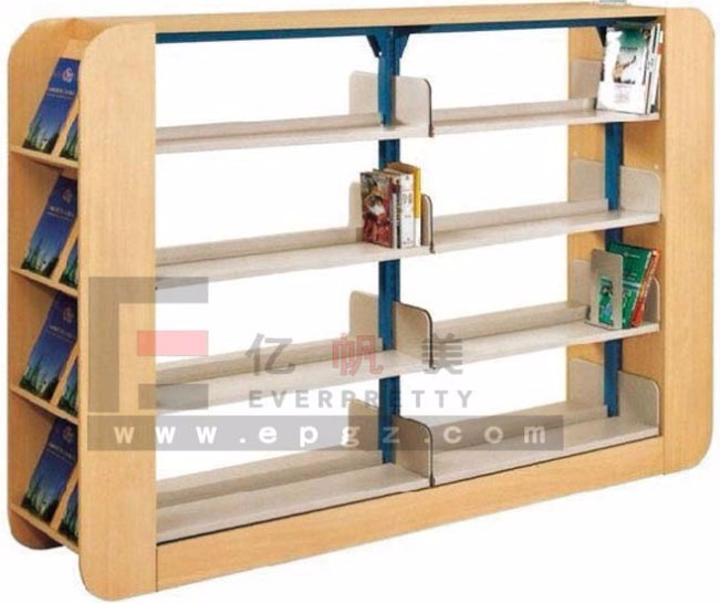 Low price school furniture wooden library bookshelf book shelf view wooden library bookshelf - Comic book display shelves ...