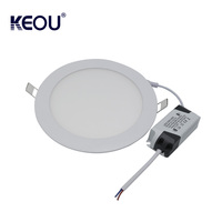 Modern flush mounted led ceiling light, 2.5/3/3.5/4/5/6/8/10inch ultra-thin led light panel 18w