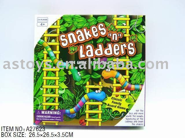 Board game snakes ladders/Intellectual & Educational