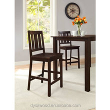 Solid wood durable bar chair with factory price