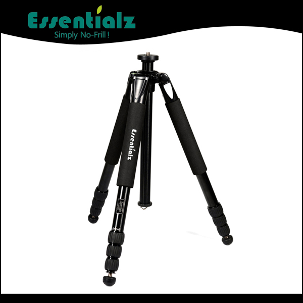 folded design travel professional aluminum tripod heavy duty